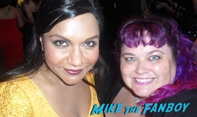 Mindy Kaling fan photo emmys 2015