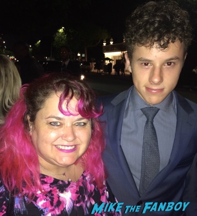 Nolan Gould fan photo emmys 2015