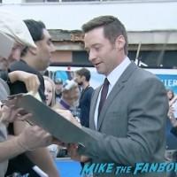 Pan UK London world premiere hugh jackman signing autographs 1