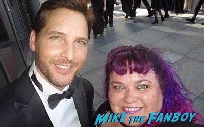 Peter Facinelli fan photo emmys 2015
