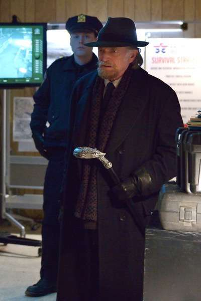 "THE STRAIN -- ""The Battle For Red Hook"" -- Episode 209 (Airs September 6, 10:00 pm e/p) Pictured: David Bradley as Abraham Setrakian. CR: Michael Gibson/FX"