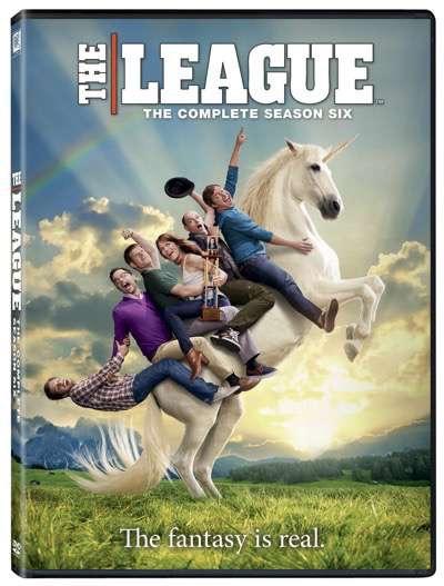 the league season 6 dvd set stills