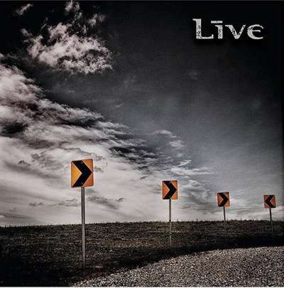 live new cd cover