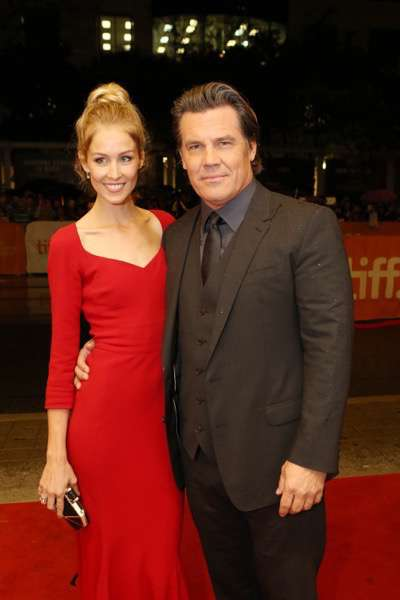 Kathryn Boyd and Josh Brolin seen at Lionsgate 'Sicario' Premiere at the 2015 Toronto International Film Festival on Friday, September 11, 2015, in Toronto, CAN. (Photo by Vito Amali/Invision for Lionsgate/AP Images)