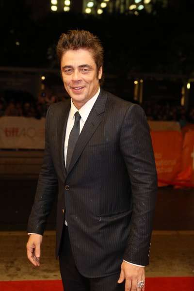 Benicio Del Toro seen at Lionsgate 'Sicario' Premiere at the 2015 Toronto International Film Festival on Friday, September 11, 2015, in Toronto, CAN. (Photo by Vito Amali/Invision for Lionsgate/AP Images)