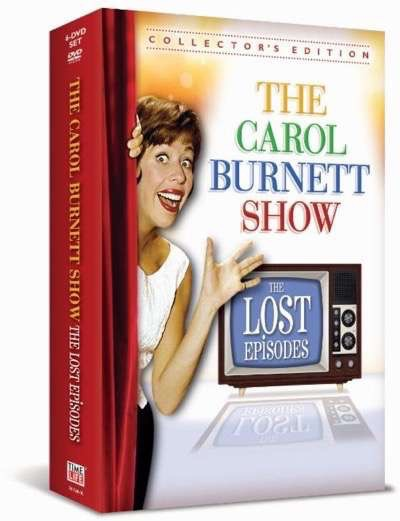 The Carol Burnett show the lost episodes box art 2
