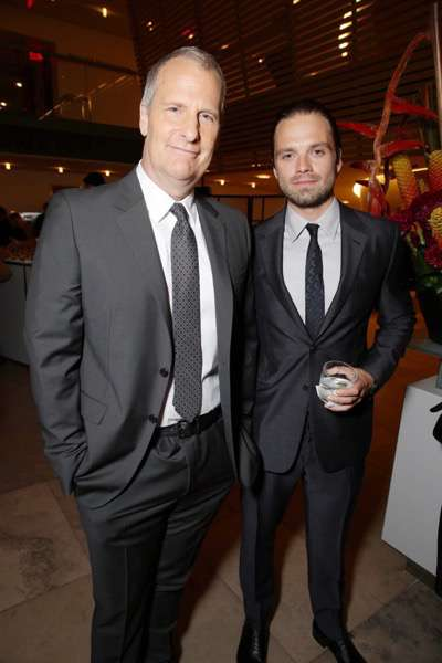 Exclusive - Jeff Daniels and Sebastian Stan seen at Twentieth Century Fox 'The Martian' Premiere Gala at the 2015 Toronto International Film Festival on Friday, September 11, 2015 in Toronto, CAN. (Photo by Eric Charbonneau/Invision for Twentieth Century Fox/AP Images)