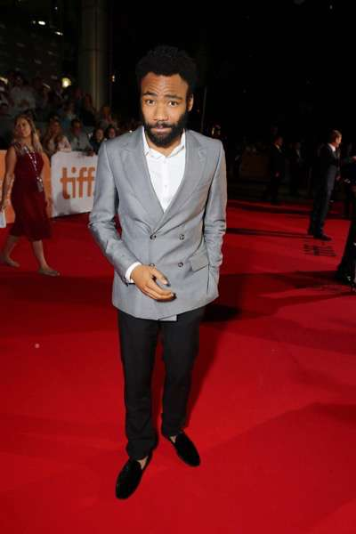 Donald Glover seen at Twentieth Century Fox 'The Martian' Premiere Gala at the 2015 Toronto International Film Festival on Friday, September 11, 2015 in Toronto, CAN. (Photo by Eric Charbonneau/Invision for Twentieth Century Fox/AP Images)