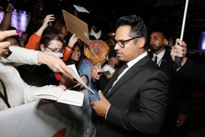 Michael Pena seen at Twentieth Century Fox 'The Martian' Premiere Gala at the 2015 Toronto International Film Festival on Friday, September 11, 2015 in Toronto, CAN. (Photo by Eric Charbonneau/Invision for Twentieth Century Fox/AP Images)