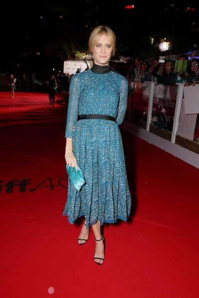 Mackenzie Davis seen at Twentieth Century Fox 'The Martian' Premiere Gala at the 2015 Toronto International Film Festival on Friday, September 11, 2015 in Toronto, CAN. (Photo by Eric Charbonneau/Invision for Twentieth Century Fox/AP Images)