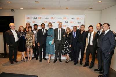 Cast and crew of 'The Martian' seen at Twentieth Century Fox 'The Martian' Premiere Gala at the 2015 Toronto International Film Festival on Friday, September 11, 2015 in Toronto, CAN. (Photo by Eric Charbonneau/Invision for Twentieth Century Fox/AP Images)