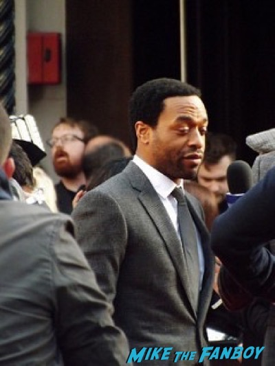 Chiwetel Ejiofor The Martian UK Premiere red carpet matt damon 32