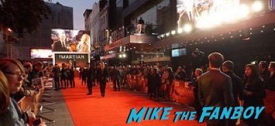 The Martian UK Premiere red carpet matt damon 30