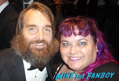 Will Forte fan photo emmys 2015