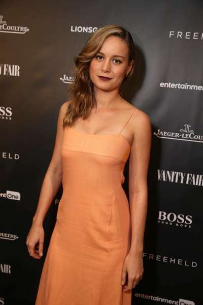 Brie Larson at the Vanity Fair toast of FREEHELD at TIFF 2015 presented by Hugo Boss and supported by Jaeger-LeCoultre on Sunday, September 13, 2015, in Toronto, Canada. (Photo by Eric Charbonneau/Invision for Lionsgate/AP Images)