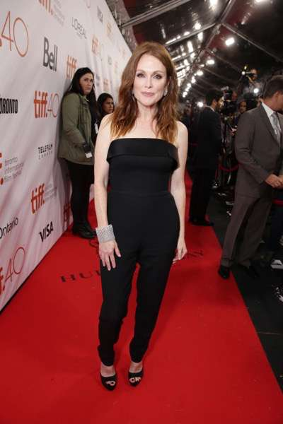 Julianne Moore at the Lionsgate 'Freeheld' Premiere at 2015 Toronto International Film Festival on Sunday, September 13, 2015, in Toronto, Canada. (Photo by Eric Charbonneau/Invision for Lionsgate/AP Images)