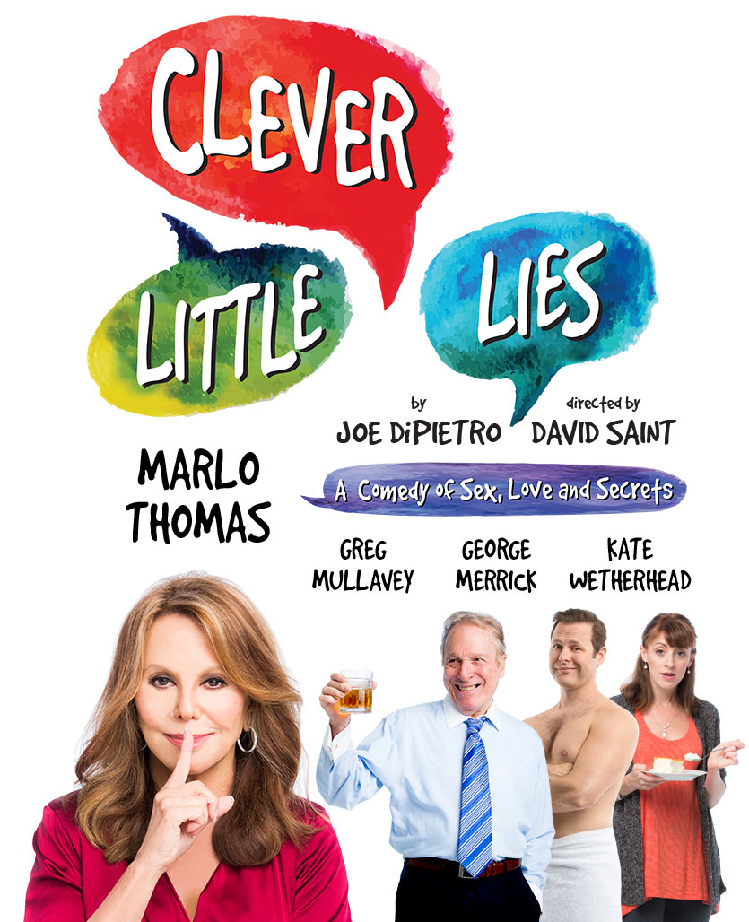 clever little lies marlo thomas broadway