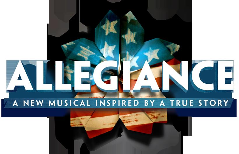allegiance broadway poster logo