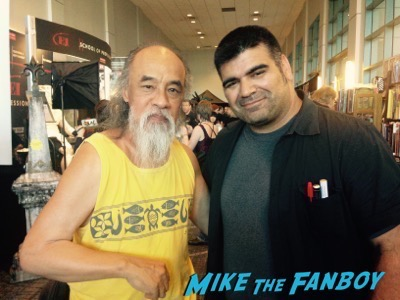 Al Leong fan photo son of monsterpalooza