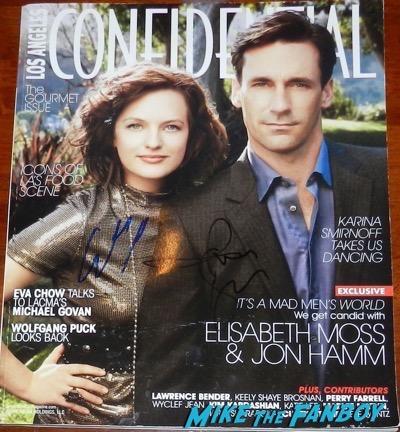 elisabeth moss jon hamm signed la confidential magazine