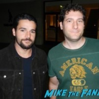 Christopher Abbott fan photo signing autographs girls star now 20151