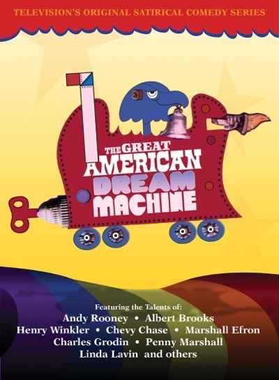 Contest Time! Win The Great American Dream Machine On DVD! The Classic Series That Paved The Way For Chevy Chase! Albert Brooks! Charles Grodin! And More! 1