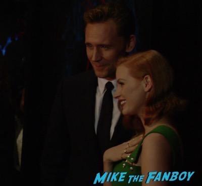 Crimson Peak New york Premiere Tom Hiddleston 1