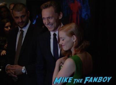Crimson Peak New york Premiere Tom Hiddleston 12