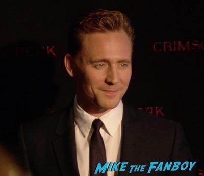 Crimson Peak New york Premiere Tom Hiddleston 15