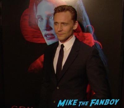 Crimson Peak New york Premiere Tom Hiddleston 3