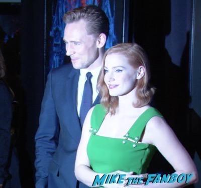Crimson Peak New york Premiere Tom Hiddleston 5