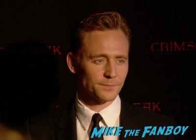 Crimson Peak New york Premiere Tom Hiddleston 6