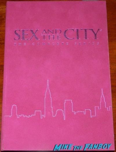 Cynthia Nixon kristin davis signed sex and the city dvd set