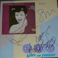 Duran Duran signed autograph lp record rio 1