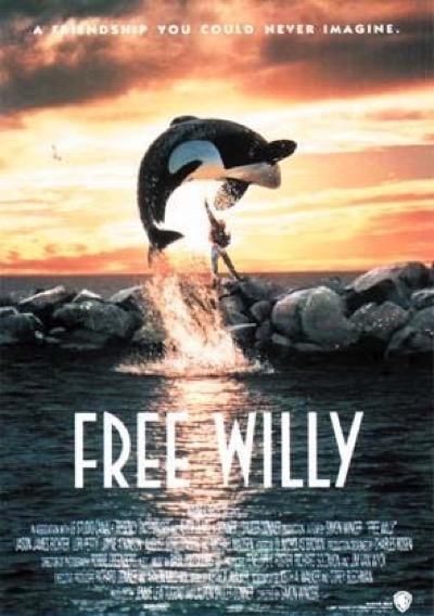 Free Willy cast photo movie poster 4