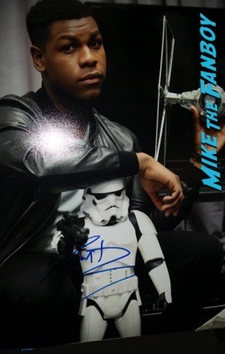 john boyega signed autograph photo