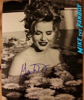 Geena Davis signed autograph photo