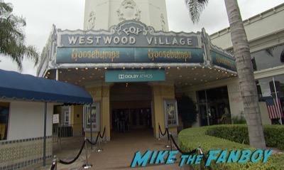 Goosebumps Los Angeles Premiere Jack Black signing autographs 6