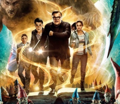 Goosebumps movie poster jack black 1