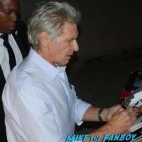 Harrison Ford Signing Autographs Jimmy Kimmel Live 2015 1