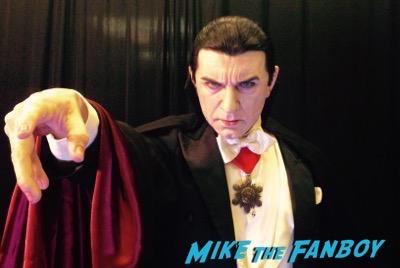 Dracula life size maquette