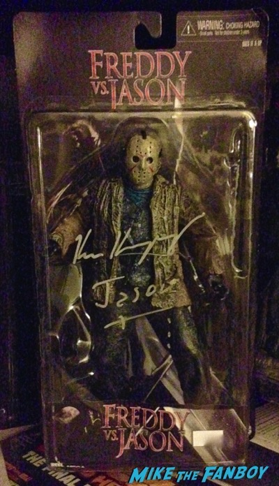 kane hodder signed friday the 13th action figure