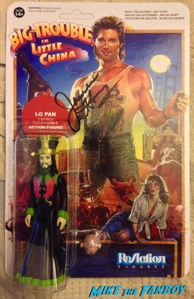 james hong signed reaction figure big trouble in little china