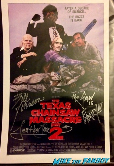 texas chainsaw massacre 2 mini poster
