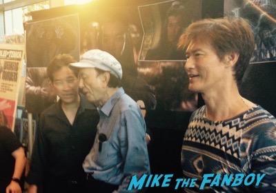 James Hong fan photo rare promo