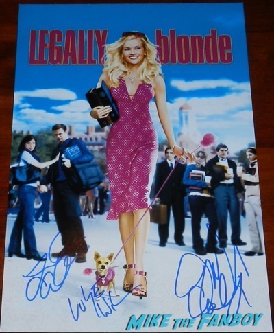Luke Wilson Signed autograph Legally Blonde poster