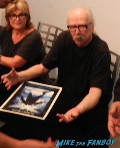 John Carpetner Autograph signing golden apple comics 20151