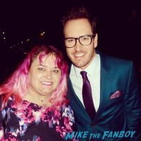 Mark-Paul Gosselaar fan photo meeting signed autograph