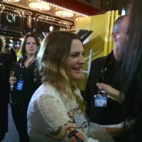 Miss you already australian movie premiere drew barrymore signing autographs 1