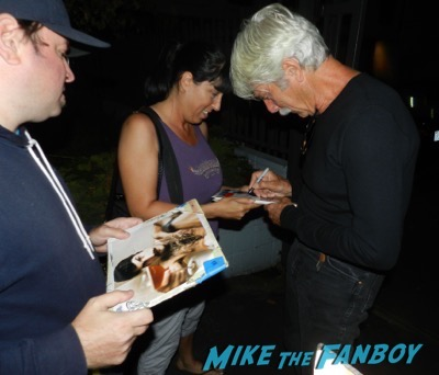 Sam Elliott signing autographs grandma q and a